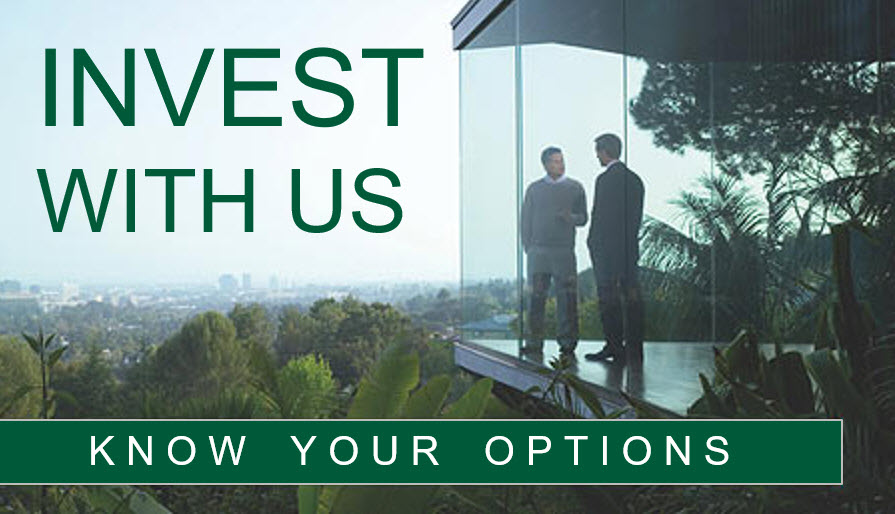 Invest with us know your options