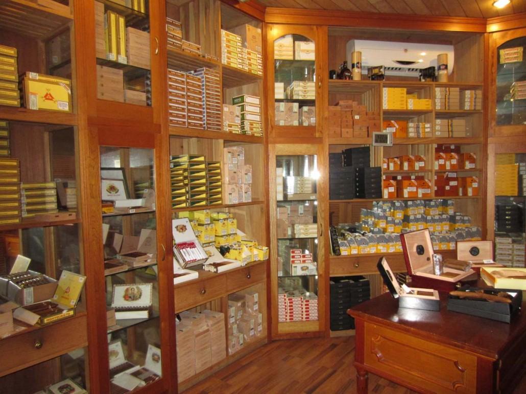 Melia Cohiba cigar store